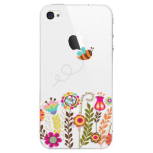 Plastové pouzdro iSaprio Bee 01 na mobil Apple iPhone 4/4S