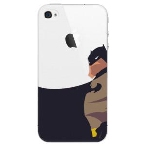 Plastové pouzdro iSaprio BaT Comics na mobil iPhone 4/4S