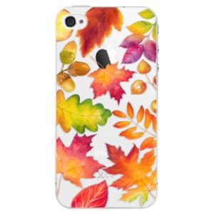 Plastové pouzdro iSaprio Autumn Leaves 01 na mobil iPhone 4/4S