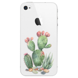 Plastové pouzdro iSaprio Cacti 01 na mobil Apple iPhone 4/4S