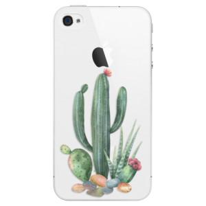Plastové pouzdro iSaprio Cacti 02 na mobil Apple iPhone 4/4S