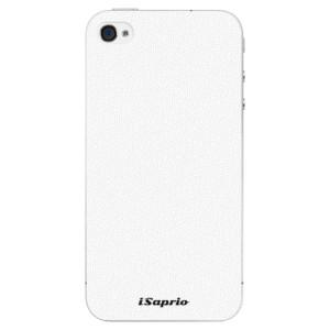 Plastové pouzdro iSaprio 4Pure bílé na mobil iPhone 4/4S