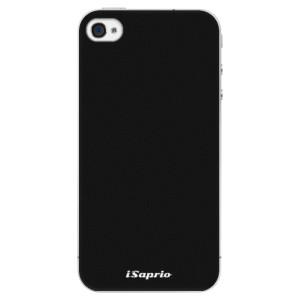 Plastové pouzdro iSaprio 4Pure černé na mobil iPhone 4/4S