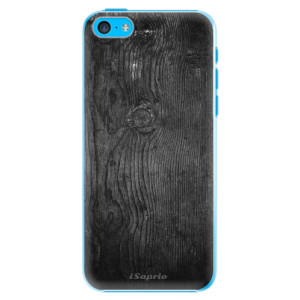 Plastové pouzdro iSaprio Black Wood 13 na mobil Apple iPhone 5C