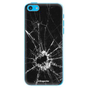 Plastové pouzdro iSaprio Broken Glass 10 na mobil Apple iPhone 5C