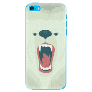 Plastové pouzdro iSaprio Angry Bear na mobil iPhone 5C