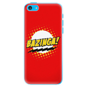 Plastové pouzdro iSaprio Bazinga 01 na mobil Apple iPhone 5C