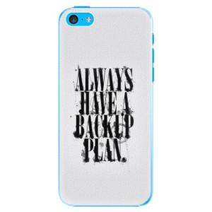 Plastové pouzdro iSaprio Backup Plan na mobil iPhone 5C