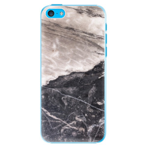 Plastové pouzdro iSaprio BW Marble na mobil Apple iPhone 5C