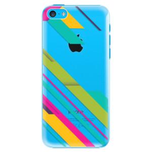Plastové pouzdro iSaprio Color Stripes 03 na mobil Apple iPhone 5C