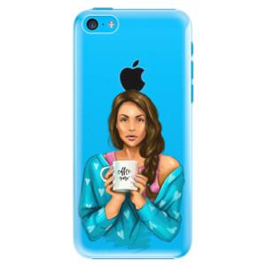 Plastové pouzdro iSaprio Coffe Now Brunette na mobil Apple iPhone 5C