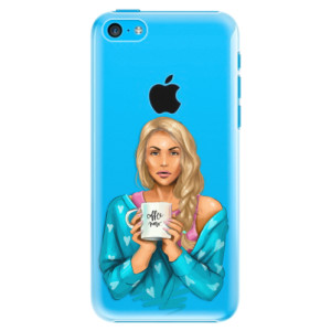 Plastové pouzdro iSaprio Coffe Now Blond na mobil Apple iPhone 5C