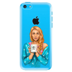 Plastové pouzdro iSaprio Coffe Now Redhead na mobil Apple iPhone 5C