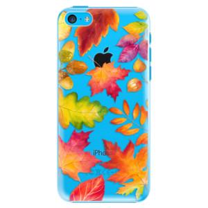 Plastové pouzdro iSaprio Autumn Leaves 01 na mobil iPhone 5C