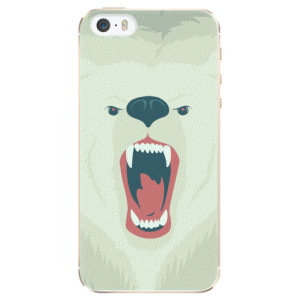 Plastové pouzdro iSaprio Angry Bear na mobil iPhone 5/5S/SE