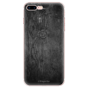 Plastové pouzdro iSaprio Black Wood 13 na mobil Apple iPhone 7 Plus