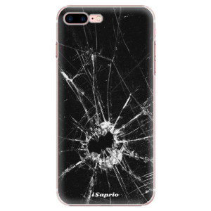 Plastové pouzdro iSaprio Broken Glass 10 na mobil Apple iPhone 7 Plus