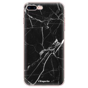 Plastové pouzdro iSaprio Black Marble 18 na mobil Apple iPhone 7 Plus