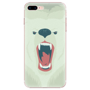 Plastové pouzdro iSaprio Angry Bear na mobil iPhone 7 Plus