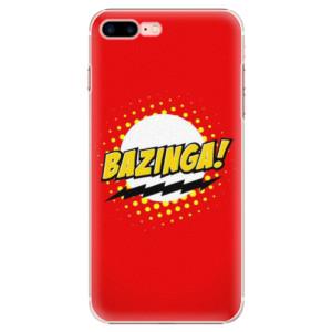 Plastové pouzdro iSaprio Bazinga 01 na mobil Apple iPhone 7 Plus