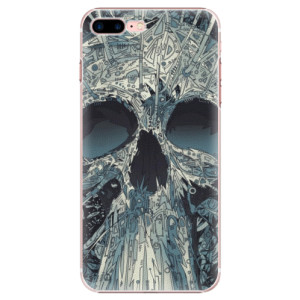 Plastové pouzdro iSaprio Abstract Skull na mobil iPhone 7 Plus