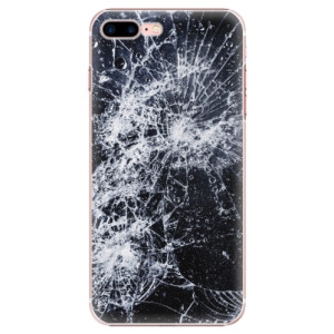 Plastové pouzdro iSaprio Cracked na mobil Apple iPhone 7 Plus