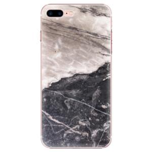 Plastové pouzdro iSaprio BW Marble na mobil Apple iPhone 7 Plus
