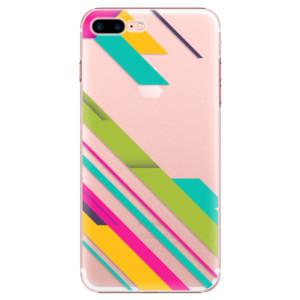 Plastové pouzdro iSaprio Color Stripes 03 na mobil Apple iPhone 7 Plus