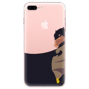 Plastové pouzdro iSaprio BaT Comics na mobil iPhone 7 Plus