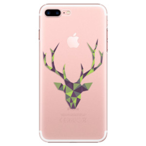Plastové pouzdro iSaprio Deer Green na mobil Apple iPhone 7 Plus