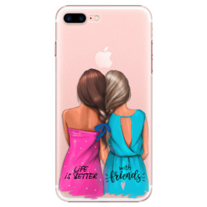 Plastové pouzdro iSaprio Best Friends na mobil Apple iPhone 7 Plus
