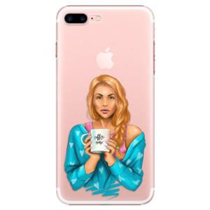 Plastové pouzdro iSaprio Coffe Now Redhead na mobil Apple iPhone 7 Plus