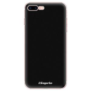 Plastové pouzdro iSaprio 4Pure černé na mobil iPhone 7 Plus