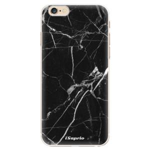Plastové pouzdro iSaprio Black Marble 18 na mobil Apple iPhone 6/6S