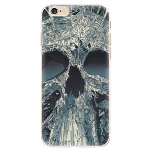 Plastové pouzdro iSaprio Abstract Skull na mobil iPhone 6/6S