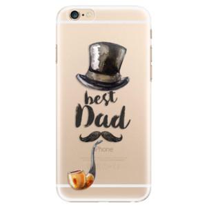 Plastové pouzdro iSaprio Best Dad na mobil Apple iPhone 6/6S