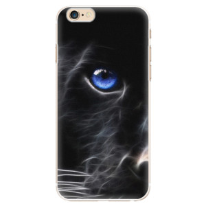 Plastové pouzdro iSaprio Black Puma na mobil Apple iPhone 6/6S
