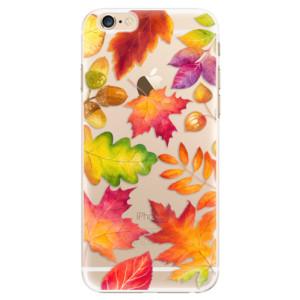 Plastové pouzdro iSaprio Autumn Leaves 01 na mobil iPhone 6/6S