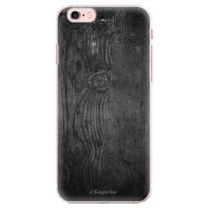 Plastové pouzdro iSaprio Black Wood 13 na mobil Apple iPhone 6 Plus/6S Plus