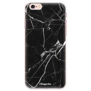 Plastové pouzdro iSaprio Black Marble 18 na mobil Apple iPhone 6 Plus/6S Plus