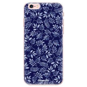 Plastové pouzdro iSaprio Blue Leaves 05 na mobil Apple iPhone 6 Plus/6S Plus