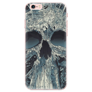 Plastové pouzdro iSaprio Abstract Skull na mobil iPhone 6 Plus/6S Plus