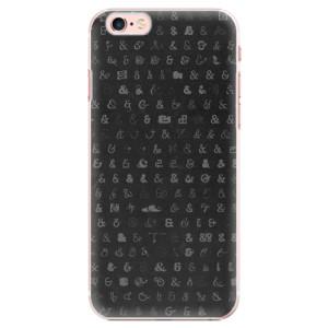 Plastové pouzdro iSaprio Ampersand 01 na mobil iPhone 6 Plus/6S Plus