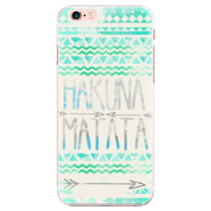 Plastové pouzdro iSaprio Hakuna Matata Green na mobil Apple iPhone 6 Plus/6S Plus - poslední kus za tuto cenu