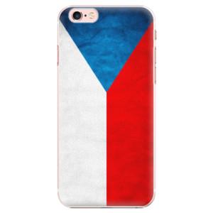 Plastové pouzdro iSaprio Czech Flag na mobil Apple iPhone 6 Plus/6S Plus