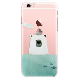 Plastové pouzdro iSaprio Bear With Boat na mobil Apple iPhone 6 Plus/6S Plus