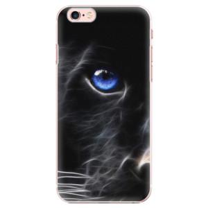 Plastové pouzdro iSaprio Black Puma na mobil Apple iPhone 6 Plus/6S Plus