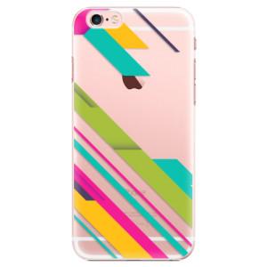 Plastové pouzdro iSaprio Color Stripes 03 na mobil Apple iPhone 6 Plus/6S Plus
