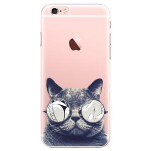 Plastové pouzdro iSaprio Crazy Cat 01 na mobil Apple iPhone 6 Plus/6S Plus