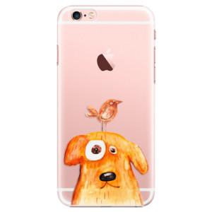 Plastové pouzdro iSaprio Dog And Bird na mobil Apple iPhone 6 Plus/6S Plus